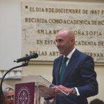 Joaquín Danvila durante el acto de graduación de EUDE Business School